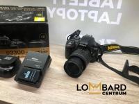 Lustrzanka Nikon D3300  Z obiektywem 18-55mm Komplet widoczn