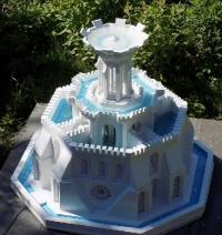 Za darmo nowa technika budowy form 3d - fontanny ze świecami