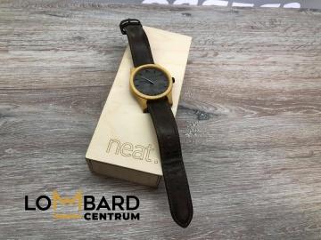 Zegarek drewniany Neat.  Cena 230zł LoMbard Centrum ul. Dwor