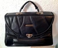 Skórzana torebka damska - BELLAGIORNATA używana vintage PRL