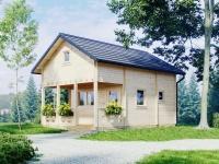 Domek drewniany JODŁA escapada.pl