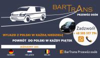 Przewóz osób Niemcy-Holandia-Belgia