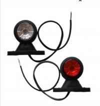 Obrysowka Led 12v 24v lampa 2 szt do lawet przyczep