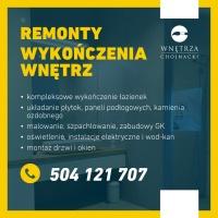 REMONTY - WYKOŃCZENIA WNĘTRZ- Wolne terminy 2021!
