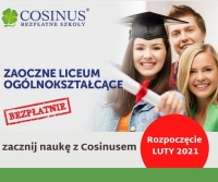 Zaoczne LICEUM dla dorosłych - Cosinus Konin