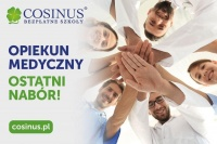 Opiekun Medyczny - BEZPŁATNA nauk - Cosinus