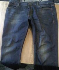 Spodnie męskie Jeansy i materiał a.la jeans markowe XXL