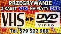 Przegrywanie z kaset wideo S-VHS-C 8mm mini DV na płyty DVD