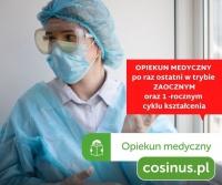 Opiekun Medyczny - ostatni nabór /zajęcia od lutego