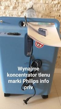 Wynajme koncentrator tlenu marki Philips