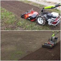 Usługi glebogryzarką separacyjną - zakładanie trawników