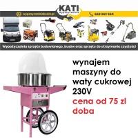 wynajem maszyny do waty cukrowej 230V
