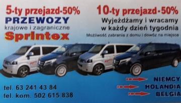 Transport osób. Busy Niemcy Holandia Belgia