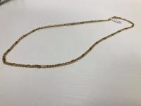 Złoty łańcuszek próby 585 14K Waga 9.80 gram Długość 50cm Ce