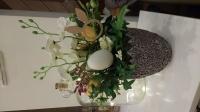 Stroiki wielkanocne ozdoby kwiaty sztuczne