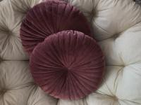 Poduszki okrągłe