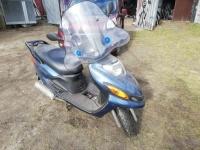 Sprzedam Yamaha MBK 125 uszkodzony. Nowe OC na rok.