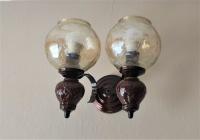 Kinkiet 2 punkty 2 żarówki E27 lampa