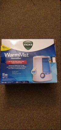 Nawilżacz powietrza WarmMist vicks