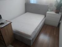 Sprzedam łózko Comforteo z materacem tapicerowane 140 x 200