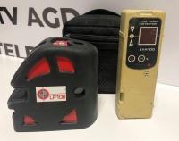 Laser Caution LP 106 w zestawie z Line Laser Detector LVH100