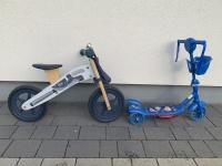 Rowerek biegowy Kinderkraft MOTOCYKL + kask + hulajnoga