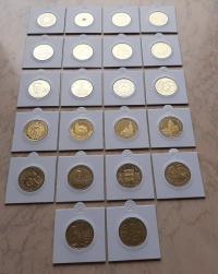 Monety 2 zł. NG Komplet 22 szt. 2000-2007r.