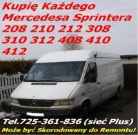 Skup Mercedes 208 210 308 310 408 410 kaczkę 207 209 307 309