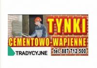 Tynki maszynowe cementowo-wapienne tel 887712500