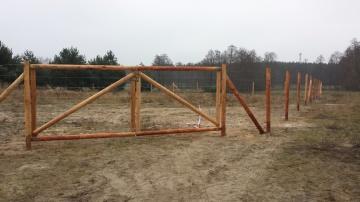 Siatka leśna ,ogrodzenie tymczasowe ,budowlane