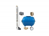 Montuje pompy głębinowe oraz zbiorniki hydroforowe, Nawodnie