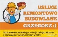 Usługi remontowo-budowlane Grzegorz