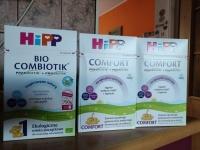 Mleko HIPP1 oraz HIPP Comfort