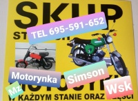 Kupię Motocykle