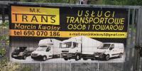 M.K. TRANS - Transport osób i towarów ! Wynajem busa !