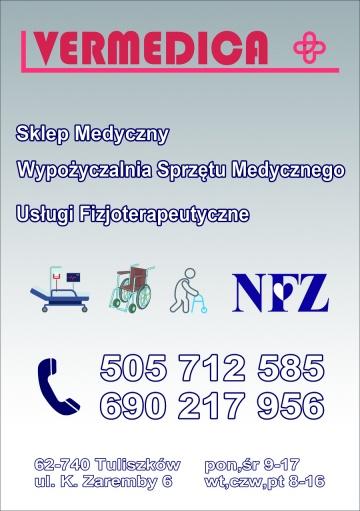 Vermedica wypożyczalnia & sklep & rehabilitacja