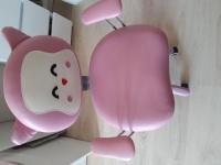 Fotel różowy Kitty