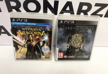Gry na Ps3 Game of Thrones Gra o Tron, Władca pierścieni Wyp