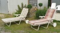 leżaki plażowe, basenowe - meble holenderskie Mielnica