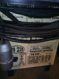 Transformator spawalniczy TS225