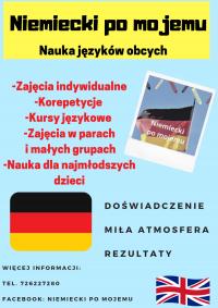 Korepetycje,przygotowanie do poprawki - niemiecki,angielski