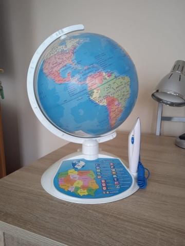 Globus edukacyjny interaktywny Clementoni