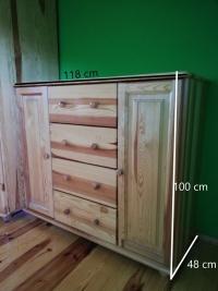 Sprzedam komodę drewnianą