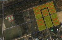 Sprzedam działki budowlane, okolice lasu i jeziora Skulsk