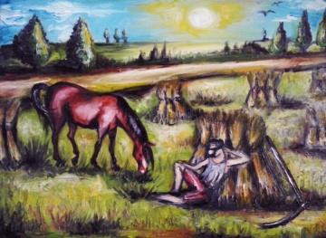Pejzaże - malarstwo olejne na zamówienie