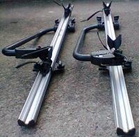 Bagażniki na rowery 2szt Mercedes ML itp pasują.
