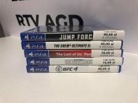 Gry na PS4 Ceny na załączonym zdjęciu
