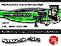 Monitoring Montaż Kamer - PROMOCJA -50% - Serwis 24/h