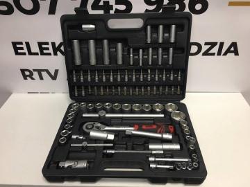 Zestaw kluczy POWERFIX 110el w walizce