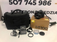 Lustrzanka Nikon D5100 + obiektyw Nikkor 18-55mm Komplet